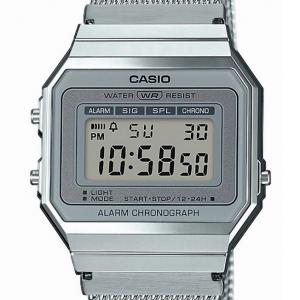 Casio Vintage digitale, silver