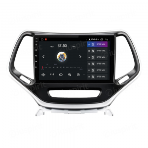 ANDROID autoradio navigatore per Jeep Cherokee 5 KL 2014-2018 CarPlay Android Auto GPS USB WI-FI Bluetooth 4G LTE