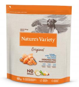 Nature's Variety - Original Dog - No Grain - Mini - Adult - Salmone - 600 gr