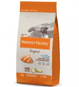 Nature's Variety - Original Dog - No Grain - Mini - Adult - Salmone - 7 kg