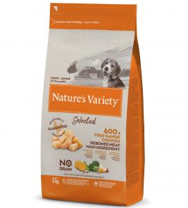 Nature's Variety - Selected Dog - No Grain - Junior - Pollo - 2 kg