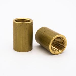 Manicotto ottone raccordo M10x1-M10x1 - Ø12x16 mm