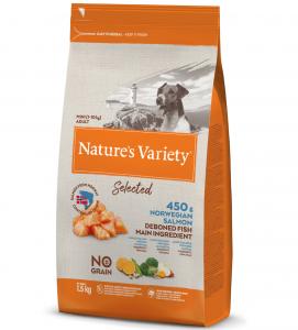 Nature's Variety - Selected Dog - No Grain - Mini - Adult - 1.5 kg