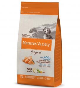 Nature's Variety - Original Dog - No Grain - Puppy - Salmone - 2 kg