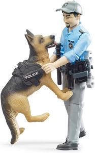 BRUDER - 026150 Poliziotto con Pastore