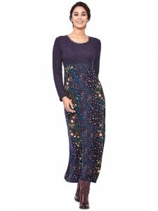 Robe longue d'hiver | Vêtements Baba Design Boutique en ligne