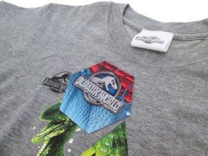 T-shirt Jurassic World Velociraptor 3/4 - 5/6 - 7/8 anni