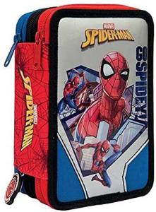 Astuccio Triplo Spiderman Giochi Preziosi 2021 2022
