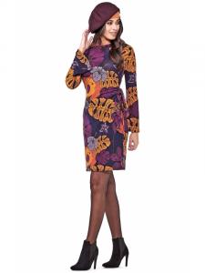 Robe imprimée Baba Design | Vêtements d'hiver pour femmes