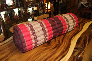 Cuscino a rotolo in cotone thai large (ROLABLE MAT LARGE)