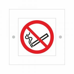 Cartello in plexiglass serie Plexline Economy vietato fumare