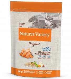 Nature's Variety - Original Cat - Sterilizzato - Salmone -  300 gr