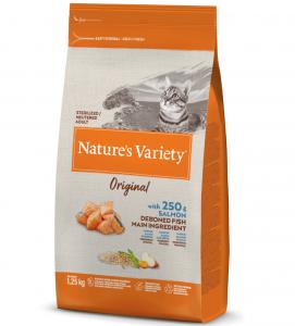 Nature's Variety - Original Cat - Sterilizzato - Salmone -  1.25 kg