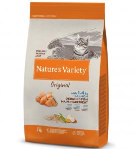 Nature's Variety - Original Cat - Sterilizzato - Salmone -  7 kg