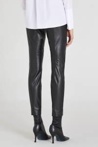 Pantalone in Ecopelle Slim