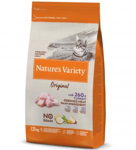 Nature's Variety - Original Cat - No Grain - Sterilizzato - Tacchino -  1.25 kg