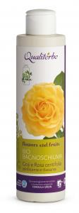 Bio Bagnoschiuma addolcente e rilassante 200 ml al Goji e alla Rosa Centifolia