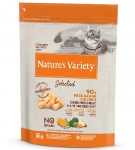 Nature's Variety - Selected Cat - No Grain - Sterilizzato - Pollo - 300 gr