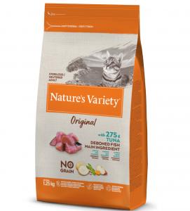 Nature's Variety - Original Cat - No Grain - Sterilizzato - Tonno -  1.25 kg