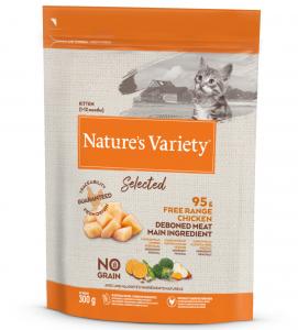 Nature's Variety - Selected Cat - No Grain - Kitten - Pollo - 300 gr