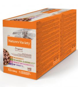 Nature's Variety - Original Cat - No Grain - Adult - Multipack - 70 g x 12 bustine