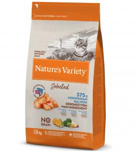 Nature's Variety - Selected Cat - No Grain - Sterilizzato - Salmone - 1.25 kg
