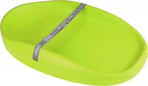 Bumbo Fasciatoio portatile leggero con cintura di sicurezza Verde