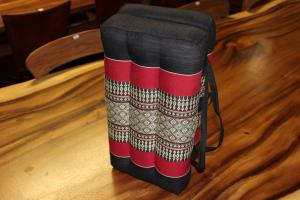 Cuscino in cotone thai mod. valigetta richiudibile (FOLDABLE YOGA SEAT)