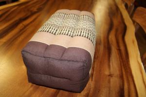 Cuscino in cotone thai mod. yoga rettangolare (SHORT RECTANGULAR PILLOW)