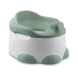 Bumbo Potty 3-in-1 Multifunzione Vasino, Riduttore WC e Pedana Verde salvia