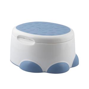 Bumbo Potty 3-in-1 Multifunzione Vasino, Riduttore WC e Pedana Blu