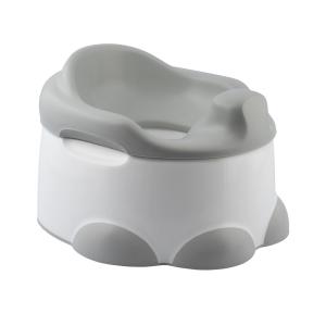 Bumbo Potty 3-in-1 Multifunzione Vasino, Riduttore WC e Pedana Grigio