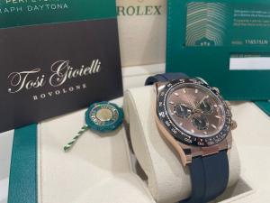 Rolex Daytona Chronoghaph Chocolate Oysterflex  116515LN