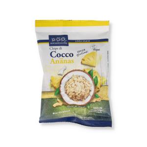 CHIPS DI COCCO CON ANANAS BIO