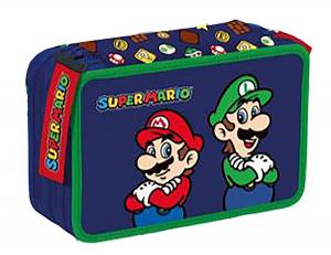 Zaino Estensibile Astuccio Triplo Super Mario e Luigi 2021/2022