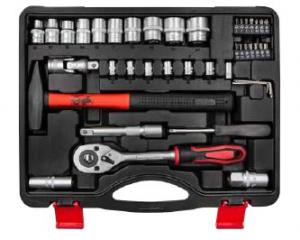 Set bussole e utensili manuali in valigetta 55 pz - Lti 64230340