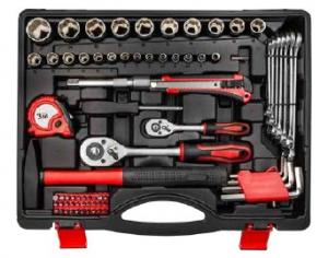 Set bussole e utensili manuali in valigetta 89 pz - Lti 64230320