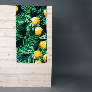 Frotteehandtuch LEMON aus reiner Baumwolle 90x170 cm