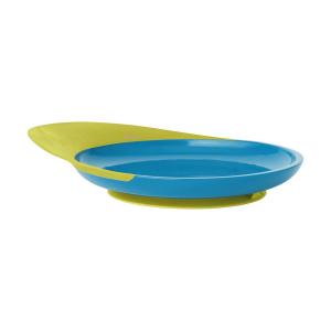 Catch piatto piano neonati - Boon - Blu e verde