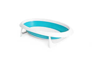 Naked vaschetta da bagno pieghevole 2 in 1 - Boon - Blu