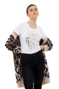 T-shirt Girocollo in Cotone