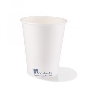 Bicchieri bio bevande calde 240ml bianchi