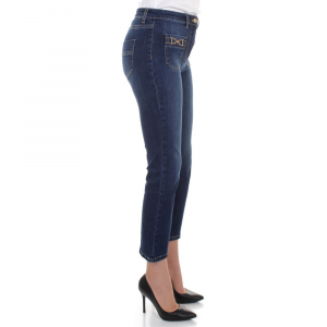 Jeans cropped Elisabetta Franchi PJ17S16E2 139 -A.1