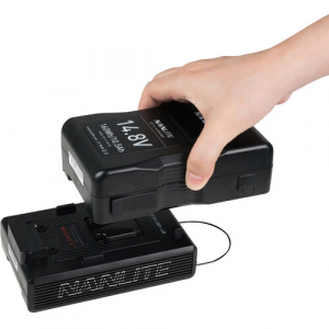 Adattatore V-mount per batterie da 14.8V a 26V