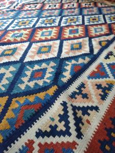 Tappeto rettangolare Kilim Sharvan, Zibaha