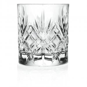 Set 6 Bicchieri da liquore in vetro trasparente, CL 8, Melodia