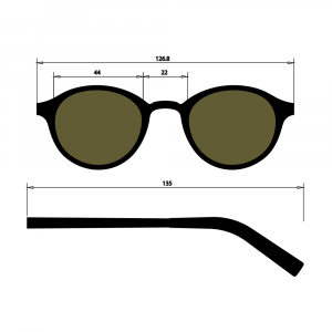 Occhiale in Titanio nickel free