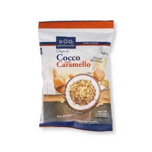 CHIPS DI COCCO CON CARAMELLO BIO