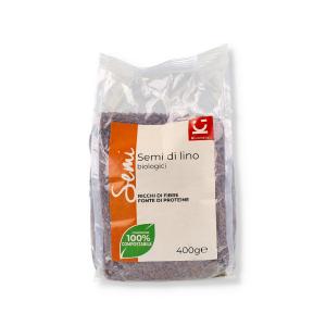SEMI DI LINO BIO 400GR (SOST 500GR)(I6/15129) KI GROUP                          #INT#