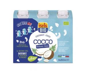 ISOLA BIO BEVANDA COCCO 3x250 ml